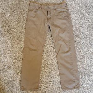 Men's Pants: Levi's 508 Khaki